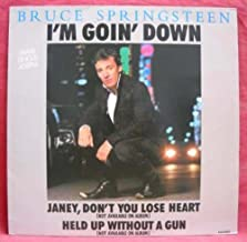 I'm Goin' Down Maxi Single 45 RPM b/w Janey, Don't Lose Heart & Held Up Without A Gun