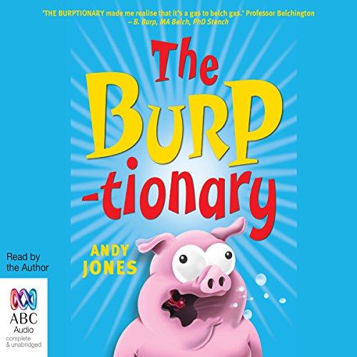 The Burptionary audiobook cover art