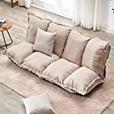 LJQLXJ divano Lazy Sofa Tatami Single Folding Sofa Bed Dual-Purpose Small Huxing Sofa Double Bedroom Sofa,Two Seat