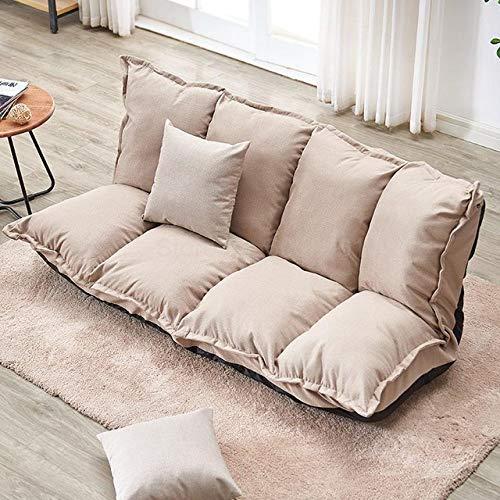 LJQLXJ divano Lazy Sofa Tatami Single Folding Sofa Bed Dual-Purpose Small Huxing...