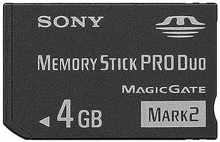 [海外パッケージ] SONY メモリースティック Pro Duo 4GB Mark2 MS-MT4G/N