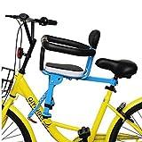 GW Asientos de Bicicleta para niños en la Parte Delantera de la Carretera de montaña eléctrica Seguridad para niños,A