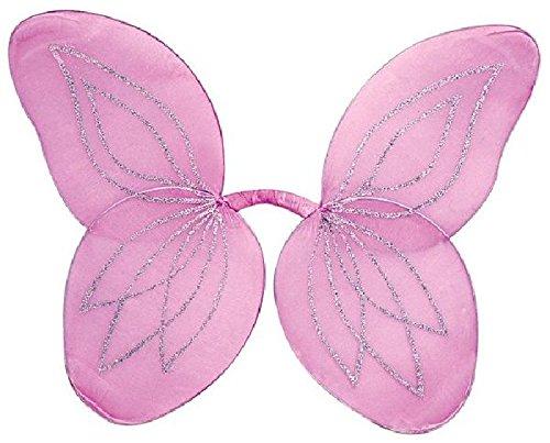 Mondial-Fete - Ailes Papillon Roses