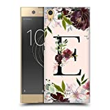 Official Nature Magick Letter E Rose Gold Flowers Monogram