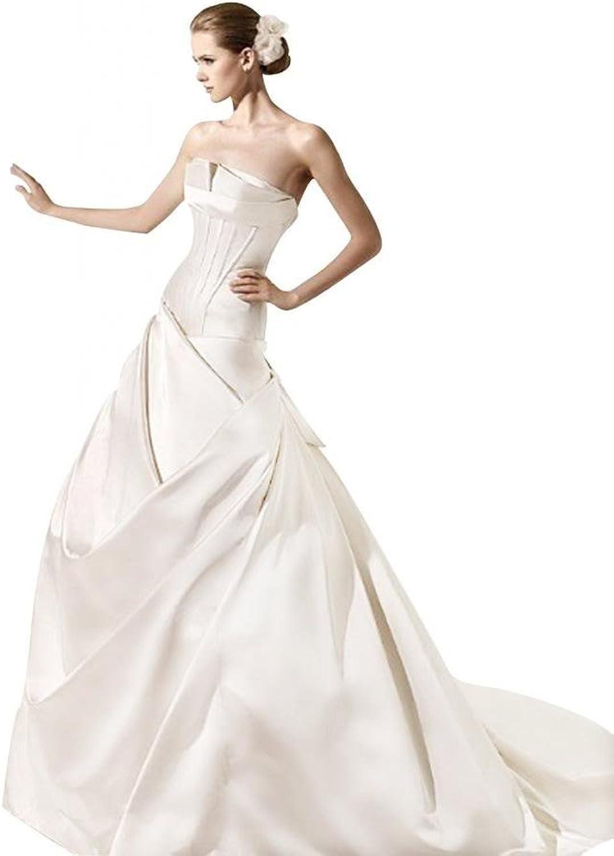 Passat Asymmetrical Hem Wedding Dresses