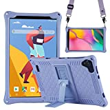 Transwon Case for YQSAVIOR 8 inch Android Tablet, Vankyo Matrixpad S8, VUCATIMES N8 8-inch Tablet, Dragon Touch Notepad Y80, Haehne 8 Inch Tablet, Teclast P80X/ P80H, Winnovo 8, HAOQIN H8 - Purple
