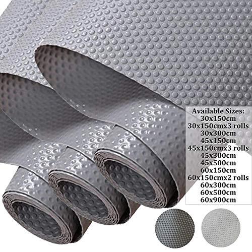 Hersvin 45x150cmx3 Rollos Alfombra Antideslizante