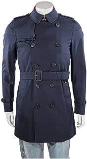 Men's Heritage Navy Kensinton Short Trench Coat