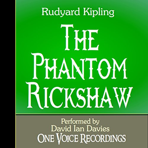 The Phantom Rickshaw audiobook cover art