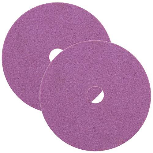 Grinding Disc Wheel 100mmx10mmx 3.2mm Corundum Chainsaw Sharpening Blade Chain Saw Sharpener Wear-resistant Pack of 2