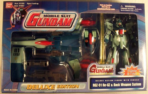 MOBILE SUIT GUNDAM RGZ-91 Re-GZ and Back Weapon System