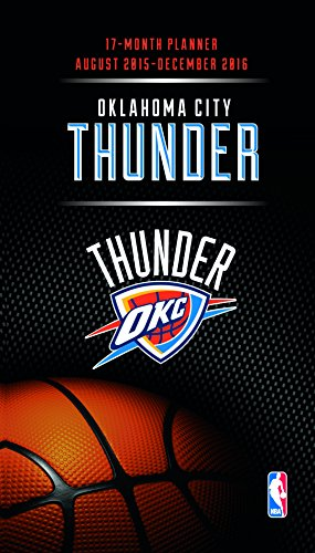 Turner Oklahoma City Thunder Kalender für 17 Monate, August 2015 - Dezember 2016, 8,9 x 12,7 cm (8890599)