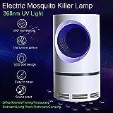 Lifemaison Tueur de Moustique en Plastique Lampe de Moustique Camping Alimenté par...