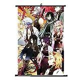 Kingmia Demon Slayer Posters, Leinwand wasserdichtes Gewebe Hängende Gemälde für Hauptwanddekor 21x30cm(H09)