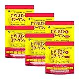 FINE Japan Hyaluronic & Collagen + Ubiquinol (210g x Approx. 30-Day Course x 6-Packs Set) Vinyl Bag Type