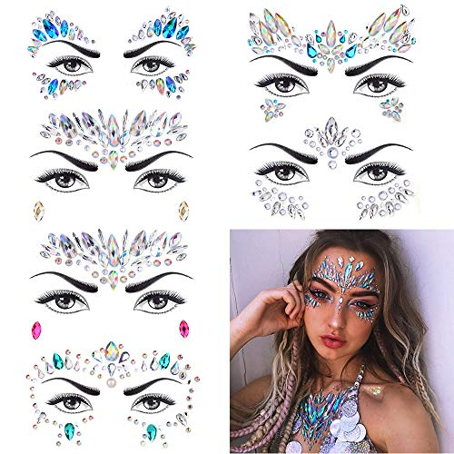 13 best face jewels rhinestones for 2020