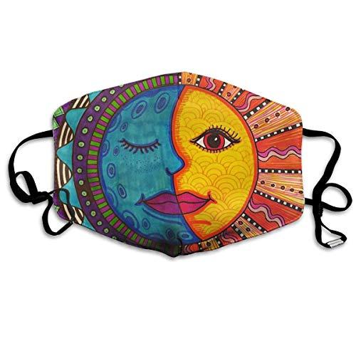 Mexikanische Volkskunst malen farbig Bedruckte Gesichtsdekorationen für Frauen und Männer
