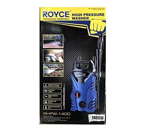 Royce COMPRESSORE IDROPULITRICE POMPA1400W per Lavaggio CASA Auto E Giardino Officina Utensili AD Alta Pressione