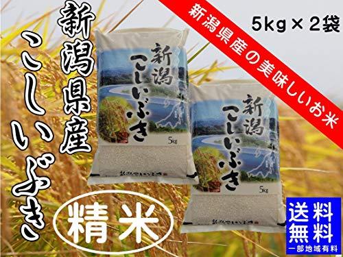 令和元年産 新潟県産 こしいぶき (精米10kg(5kg×2袋))