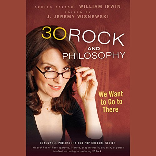 30 Rock and Philosophy audiobook cover art