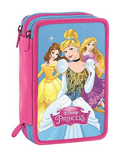 Seven Disney Princess Astuccio, 20 cm, Blu