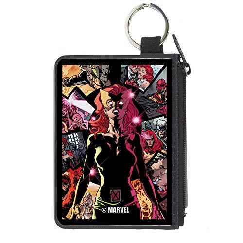 Buckle-Down Billetera con cierre de hebilla para hombre, accesorio grande, X-Men, 20,3 x 12,7 cm, Multicolor, 4.25' x 3.25'