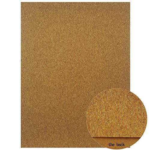 A4-formaat DIY Kleding Textiel Materialen Zachte Kurk Stof voor Thuis Naaien Kleding Kleding Handtas Synthetisch Leer Vellen 03