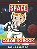 Space Coloring Book For Kids Ages 3-5: Austronauts, planets, rockets, solar system Coloring Book. Great Gift for Boys, Girls, Toddlers, Preschoolers, Kids 3-8. Unique Big Coloring Pages