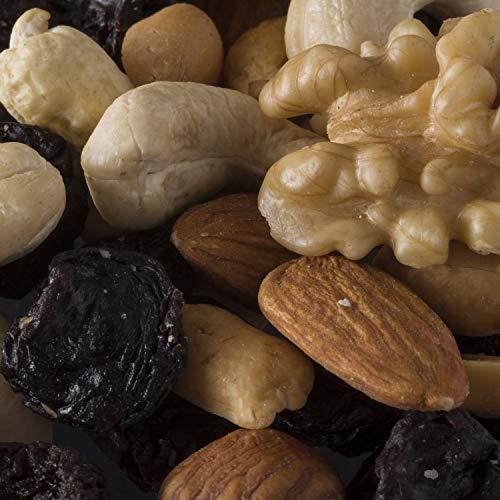 Professorenfutter, 1kg SPARPACK, besondere Nussmischung mit Trockenfrüchten, ohne Schwefel und ohne Zucker, zum Knabbern, Backen, als Müslibeigabe - Bremer Gewürzhandel