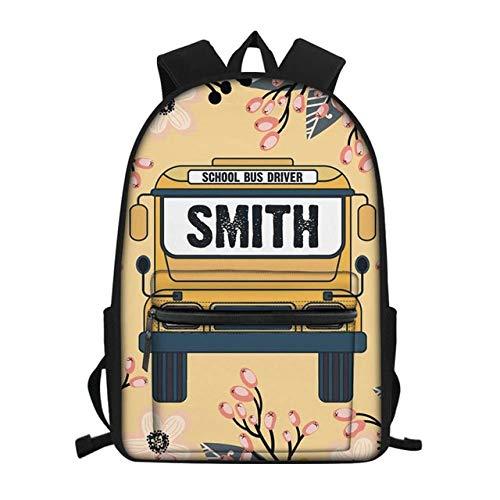 Zaino per scuolabus Hippie Zaini Cartella Satchel per ragazze adolescenti Ragazzi Borse da scuola per bambini Satche 28,5 * 40 * 17 cm G