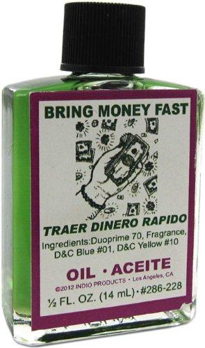 Indio Products Bring Money Fast Oil 1/2 fl. oz.
