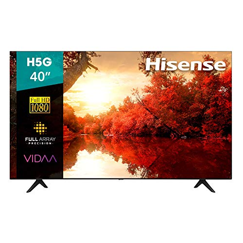 Hisense 40H5G Smart TV 40' FULL HD, 1080p, Built-in Wi-Fi, 2020, Color Negro
