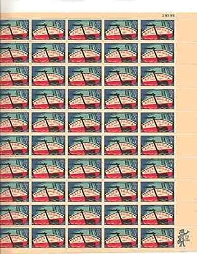 Erie Canal Sheet of 50 x 5 Cent US Postage Stamps NEW Scot 1325 by USPS