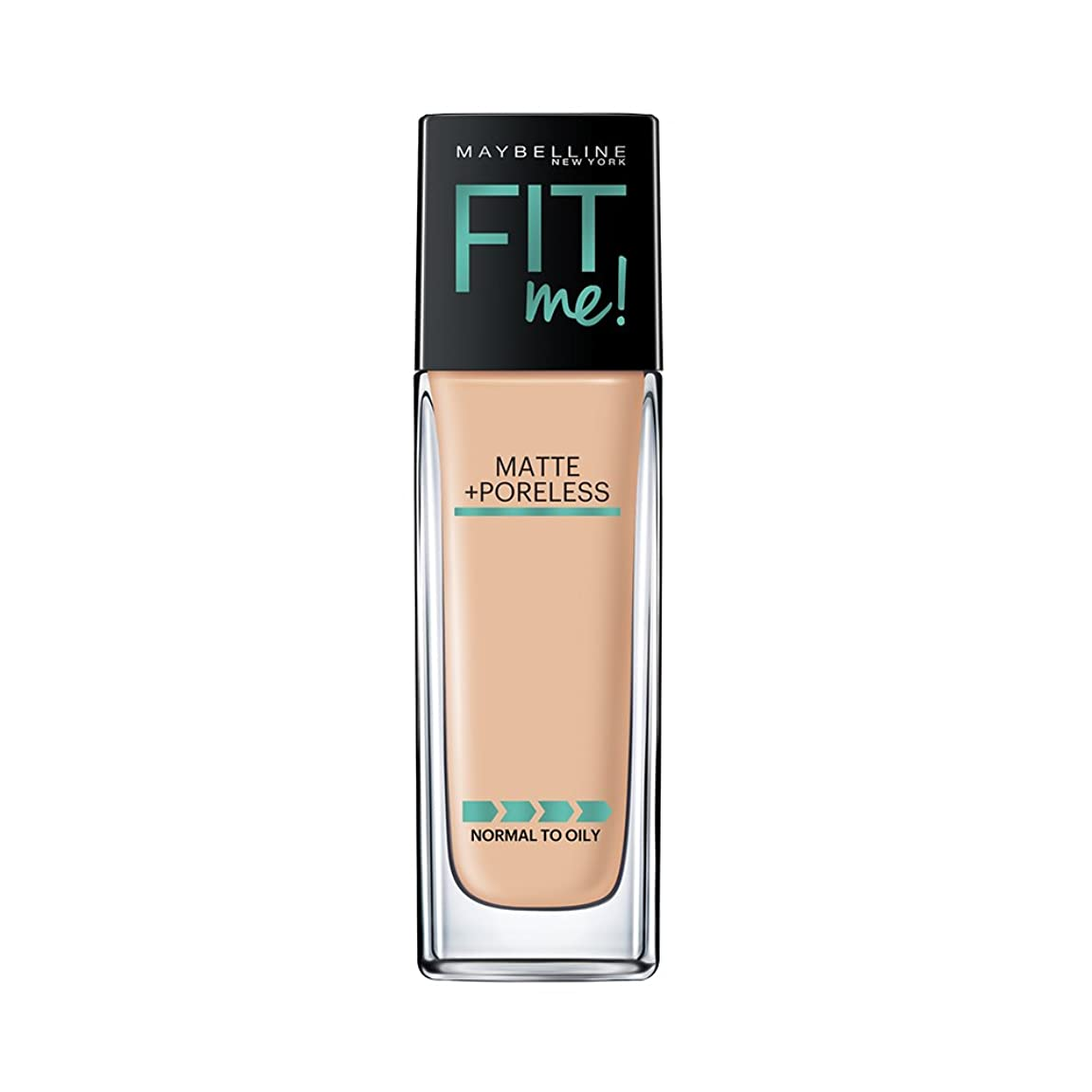 元気シフトトラブルMAYBELLINE Fit Me! Matte + Poreless Foundation - Warm Nude 128 (並行輸入品)