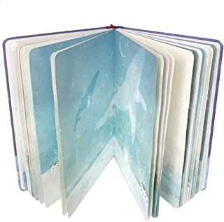 Siixu Unique Arc Notebook, Unlined Novelty Journal for Women/Men, Girls/Boys, Fashion Composition Notebook with Bookmark, Pretty Art Designed, Hardcover, 224 Pages, No Lines