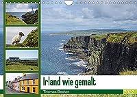 Irland wie gemalt (Wandkalender 2022 DIN A4 quer): Malerisches Irland (Monatskalender, 14 Seiten )
