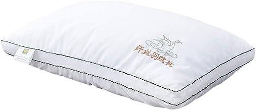 وسائد السرير عبوة واحدة من وسادة بجودة فندقية، وسائد بديلة مضادة للحساسية لمن يحبون النوم على الجانب او الظهر او البطن، وس...