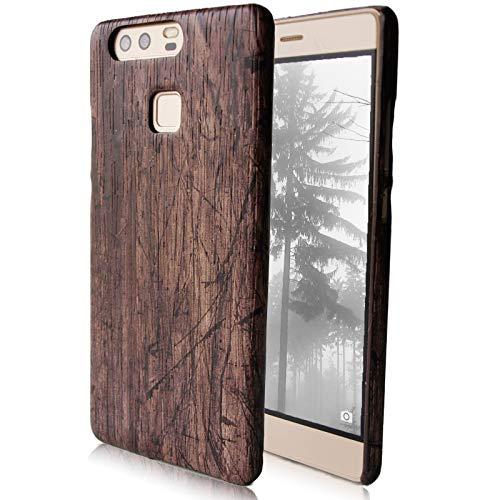 Schutz Handy Hülle für HTC One M10 Case Cover Natur Vintage Holz Dünn Slim