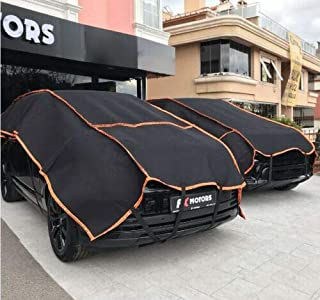 Big Size CAR Cover Hail Protector for SUVs and 4x4s Hail Storm Stone Snow Strong AUTO Guarding 6 MM Thickness 320cm x 600cm Portable Tarpaulin