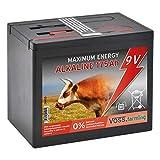 VOSS.farming Batteria 9 V Alcalina 175AH, per elettrificatori da Recinzione elettrica, Grande