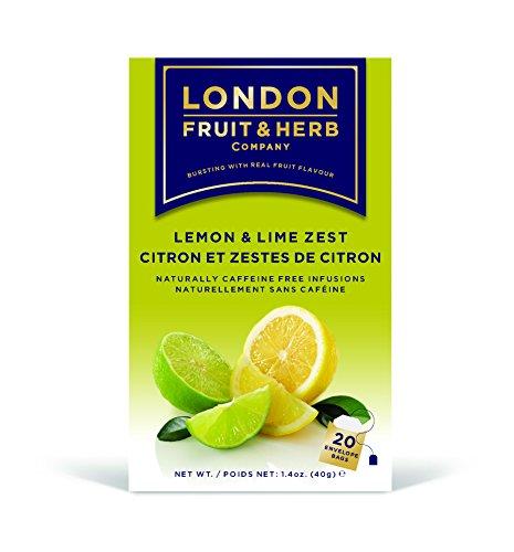 ロンドンフルーツ&ハーブ ティーバッグ レモン&ライムゼスト 20袋