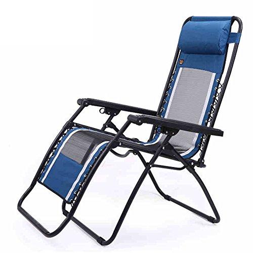 Chaises pliantes Xiaolin Déjeuner Pause Chaise de Bureau Chaise de Plage Chaise de Plage Balcon Recliner