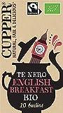 Cupper Tè Nero English Breakfast Biologico Fairtrade (confezione da 20 bustine)