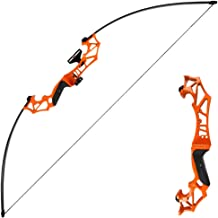 TOPARCHERY Archery Takedown Recurve Bow Hunting Long Bow Alloy Riser – Right Hand..