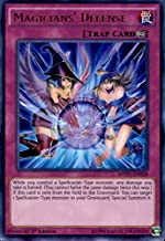 Yu-Gi-Oh! - Magicians39; Defense (MVP1-EN028) - The Dark Side of Dimensions Movie Pack - 1st Edition - Ultra Rare