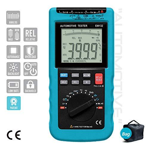 Save %31 Now! ALLOSUN Digital Automotive Multimeter 3 3/4-digit DMM EM132
