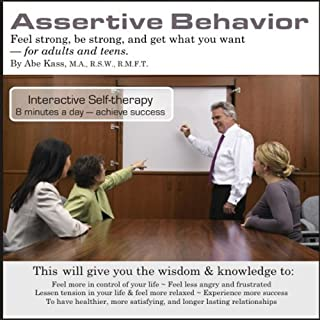 Assertive Behavior audiobook cover art