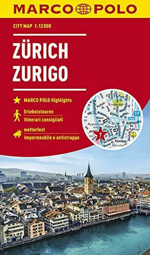 MARCO POLO Cityplan Zürich 1:12 000 (MARCO POLO Citypläne)