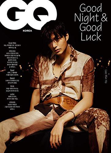 [Magazine] GQ Korean Magazine FEB 2021 Lee Min Ho 16P Shinee Minho 10P [Type B]