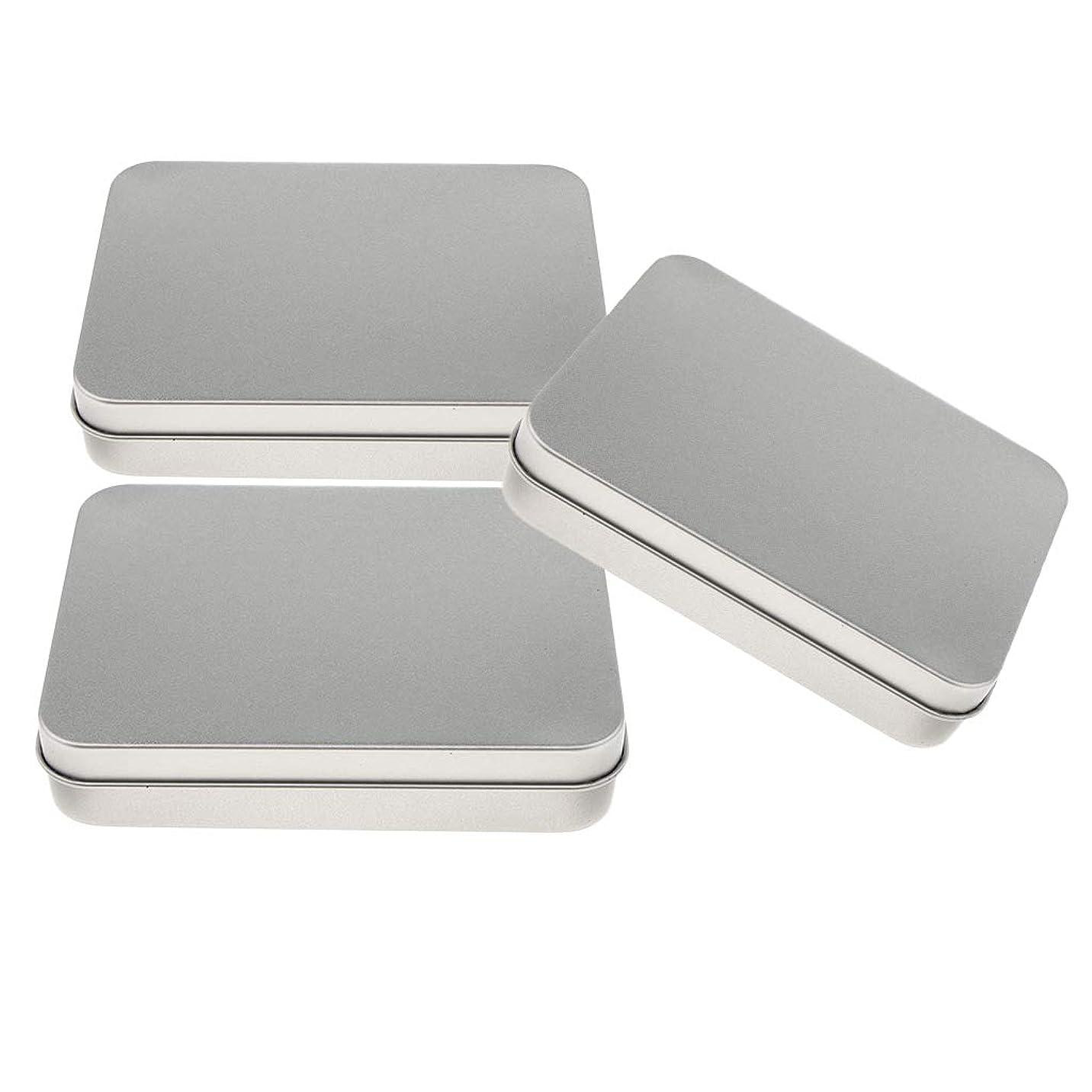 注目すべき腐敗したアシスタントIPOTCH 長方形 空 ヒンジ付き ケース 収納ボックス 実用的 全4種選べる - B